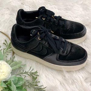 Velvet Black Nike Air Force 1